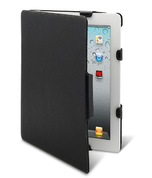 "Чехол Melkco Leather case for Samsung Galaxy Tab 8,9"" P7300 - Kios Type with 3 - Angle Stand ver 2 (Black LC)"