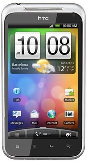 HTC Incredible S + 8 GB  White