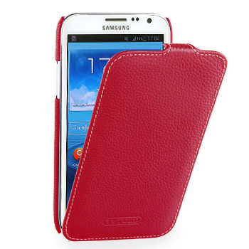 Чехол TETDED Premium Leather Case для Samsung Galaxy Note 2 N7100 / N7108 Troyes Red