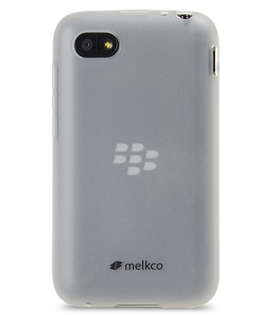 Накладка на заднюю часть Melkco Poly Jacket TPU Case для Blackberry Q10 Transparent