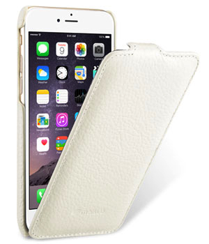 Чехол Melkco Leather Case for Apple iPhone 6 4.7 Jacka Type White LC