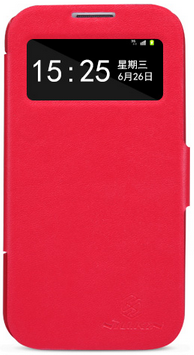 Чехол Nillkin V-series Leather Case для Samsung Galaxy S4 i9500 Red
