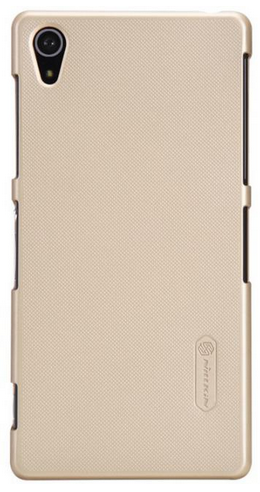 Чехол Nillkin Super Frosted Shield для Sony Xperia Z2 D6503 Gold
