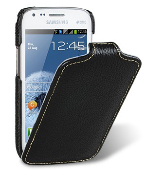 Чехол Melkco Leather Case for Samsung Galaxy S Duos S7562 - Jacka Type Black