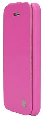 Чехол JISONCASE Fashion Flip Case для iPhone 5c Pink