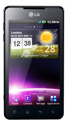 LG Optimus 3D Max P725 Black