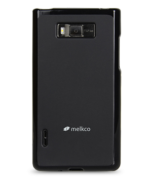 Накладка на заднюю часть Melkco Poly Jacket TPU Case для LG Optimus L7 Black Mat