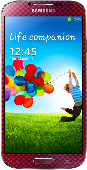 Samsung I9500 Galaxy S4 16Gb Red РСТ