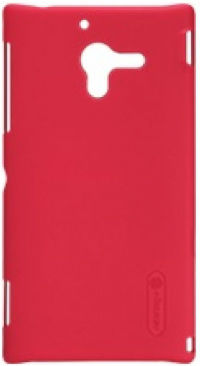Чехол Nillkin Super Frosted Shield для Sony Xperia ZL Red