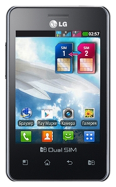 LG Optimus L3 Dual E405 Black