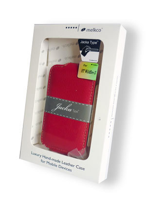 Чехол Melkco Leather Case для HTC Sensation XL Jacka Type Red LC