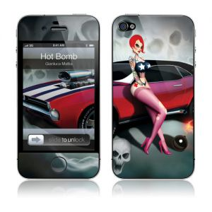 GelaSkins Hot Bomb for IPhone 4