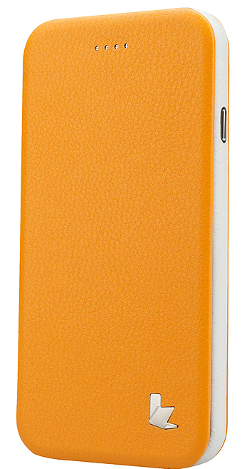 Чехол JisonCase Flip Case для iPhone 6 4.7 Yellow