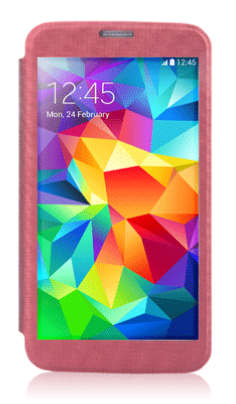 Чехол Devia Panoramic Series для Samsung Galaxy S5 G900 Red