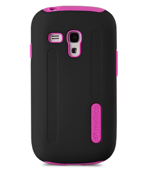 Накладка Melkco Double Layer Case Kubalt Type для Samsung Galaxy S3 Mini I8190 Black/Pink