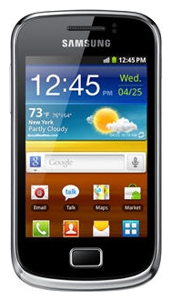 Samsung S6500 Galaxy Mini 2 Black Yellow