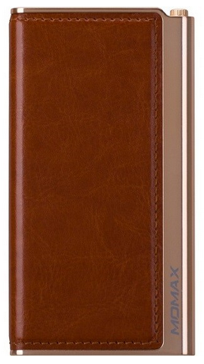Аккумулятор внешний Momax iPower Elite External Battery Pack 5000 mAh (IP51) Brown