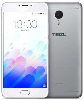 Meizu M3 Note 16Gb Silver White РСТ