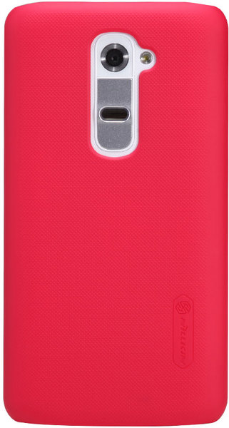 Чехол Nillkin Super Frosted Shield для LG Optimus G2 D802 Red