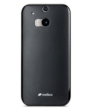 Накладка на заднюю часть Melkco Poly Jacket TPU Case для HTC One M8 Black Mat