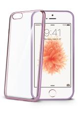 Celly Laser для Iphone 5/5S/SE Transparent/Rose