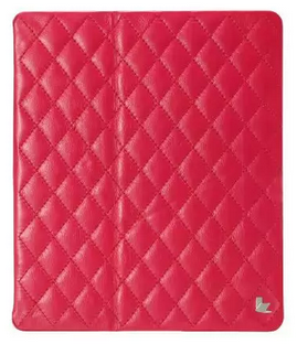JisonCase Smart Leather Case Premium Edition для IPad Air со стёганым узором Rose