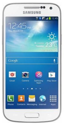 Samsung I9192I Galaxy S4 mini Duos Value Edition White