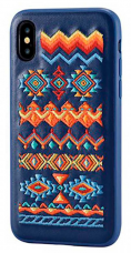 Накладка Devia Flower Embroidery для Iphone X Bohemian
