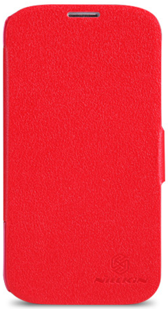 Чехол Nillkin Fresh series leather case  для Samsung Galaxy S5 G900F Red