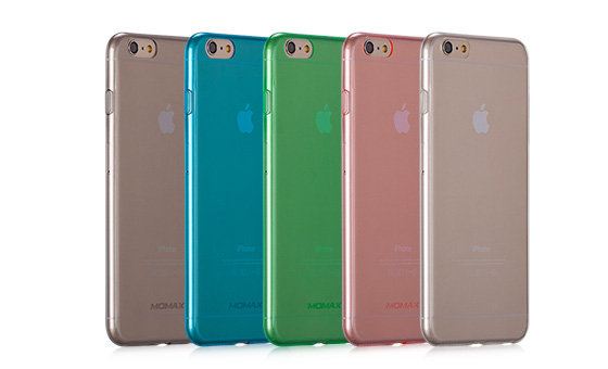 Momax Clear Twist Case для Iphone 6/6S 4.7 Black