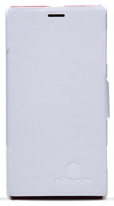 Чехол Nillkin V - series Leather Case  для Sony Xperia L White