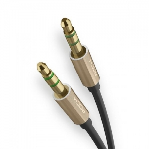 Кабель Rock Aux 3.5mm Audio Cable Gold