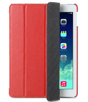 Melkco Premium Leather case for Apple iPad Air Red