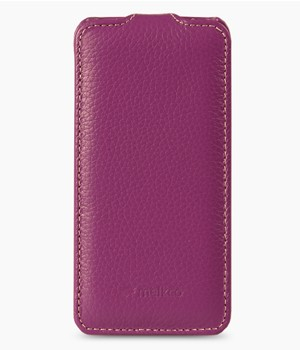 Чехол Melkco Leather Case for Sony Xperia ZR Jacka Type (Purple LC)