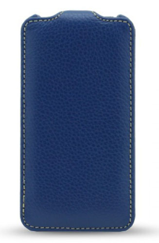 Чехол Melkco Leather Case for Sony Xperia ZR Jacka Type (Dark Blue LC)