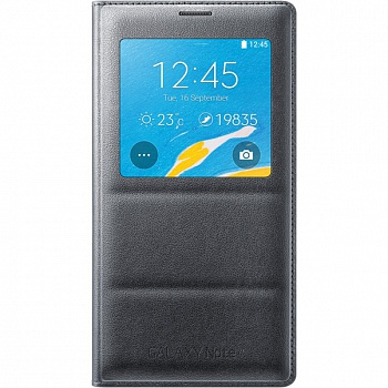 Чехол Samsung EP-VN910IBRGRU Wireless Charging для Galaxy Note 4 n910 Black