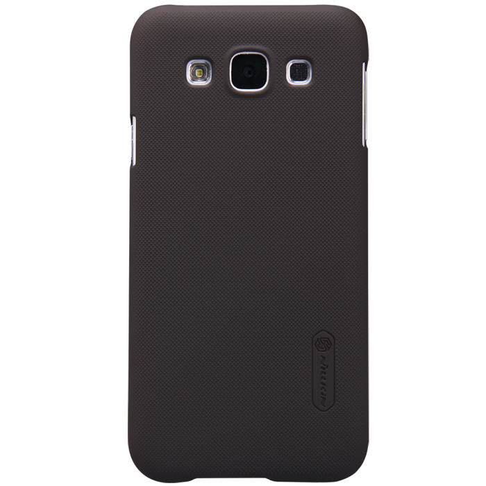Nillkin Super Frosted Shield для Samsung Galaxy E5 E500H Brown