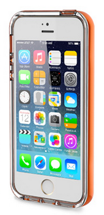 Rock для iPhone 5/5S Light Tube Series Orange