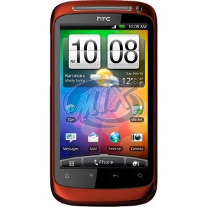 HTC Desire S Red
