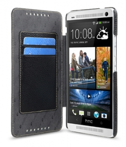 Чехол Melkco Leather Case для HTC One Max Book Type Black