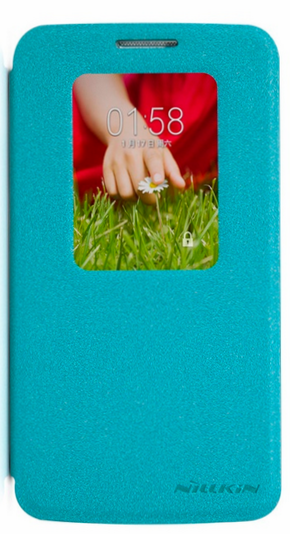 Чехол Nillkin Fresh series leather case для LG G2 mini D618 Blue