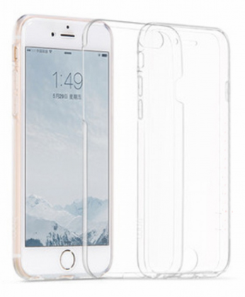 Силиконовая накладка Hoco Light Series Cool Full для Iphone 6/6S 4.7 Transparent