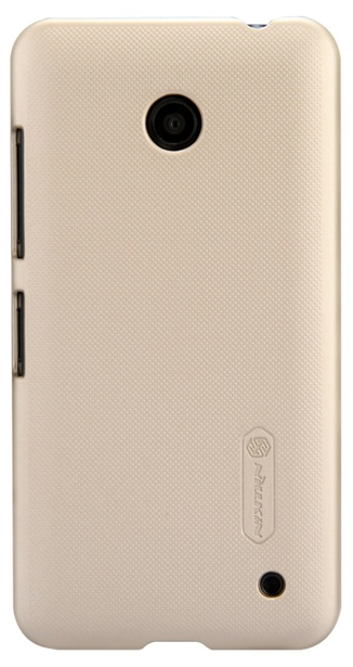 Чехол Nillkin Super Frosted Shield  для Nokia Lumia 630 Gold