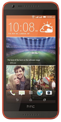 HTC Desire 620G Dual Sim Gray/Orange РСТ