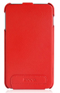 Чехол Hoco Real Leather back cover case for Samsung I9220 Note Red