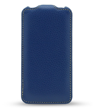 Чехол Melkco Leather Case for Samsung I8552 Galaxy Win Duos Jacka Type (Dark Blue LC)