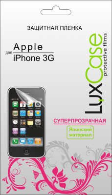 Защитная пленка LuxCase Apple iPhone 3G/3GS суперпрозрачная