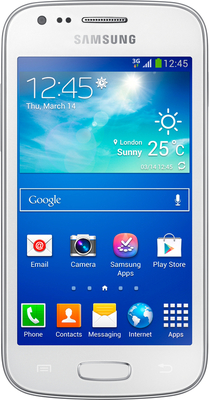 Samsung S7272 Galaxy Ace 3 White