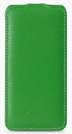 Чехол Melkco Leather Case for Sony Xperia Z2, D6502, D6503, D6543 Green