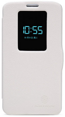 Чехол Nillkin Fresh series leather case  для LG Optimus G2 D802 White